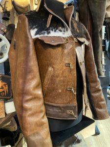 Jacke aus Pferdeleder